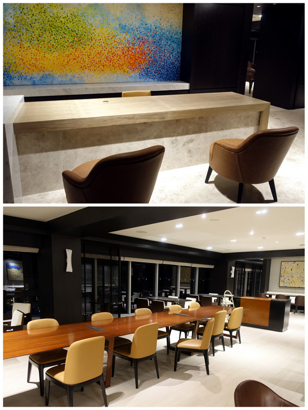 Conrad Manila- Executive Lounge