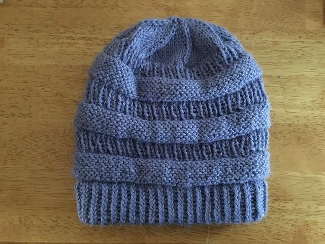 Fluid Motion   knitting  Copycat C.C. Beanie 80c6e6a4be2