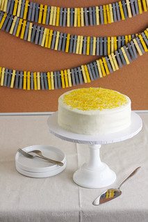 Tart Lemon Layer Cake for Mother's Day Craft Photo Shoot | by Xiaolu // 6 Bittersweets