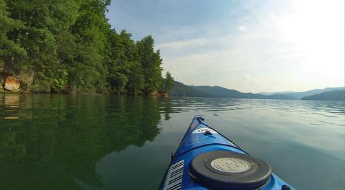 Lake Jocassee Kayaking-43