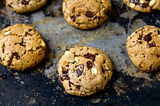 Peanut Butter Chocolate Chunk Cookies | by TheBrewer&TheBaker