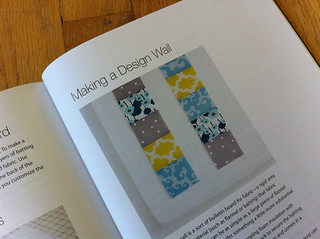 making a design wall from Modern Patchwork | by susanstars