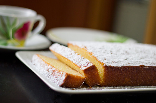 Almond-Lemon Tea Cake | by YasmineAbdullah