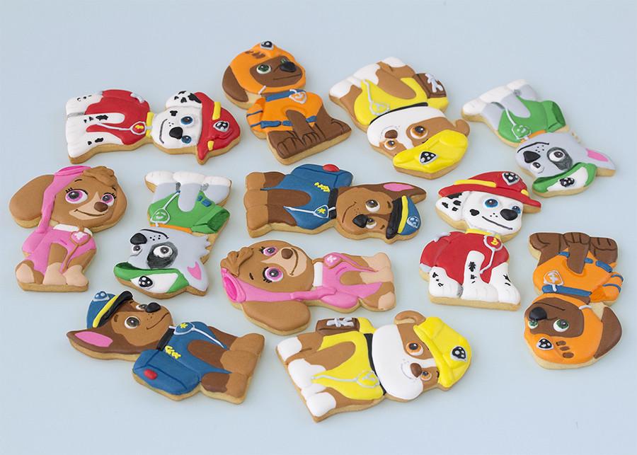 galletas de la patrulla canina