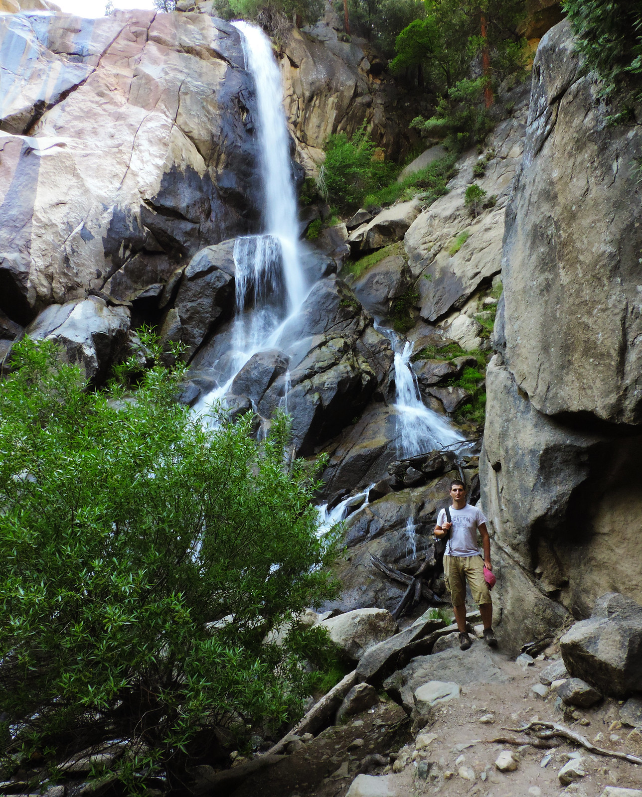 Sequoia & Kings Canyon: Grizzly Falls, Kings Canyon National Park, CA