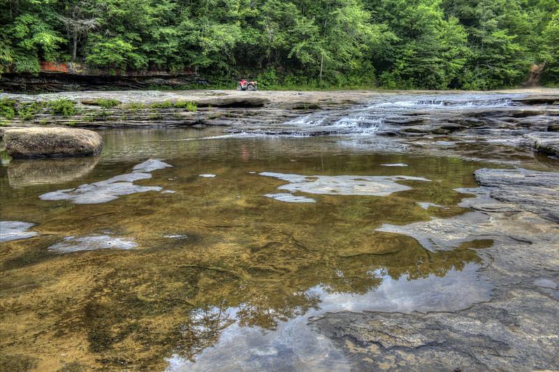 Pilot Falls, Caney Fork River, Cumberland Co, TN