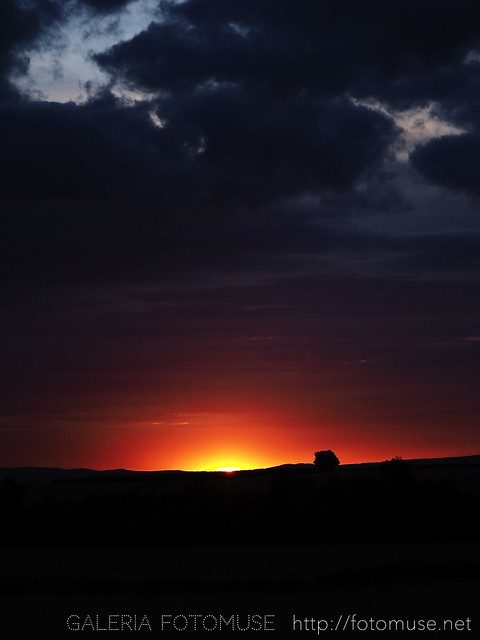 Sunset with Clouds 1