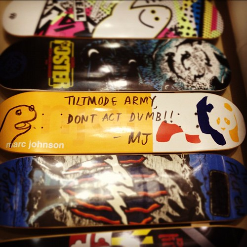 @whorenado @enjoi board up at @pitcrew207 #dontactdumb #tiltmode #chauncypeppertooth | by Tiltmode Army