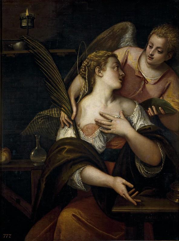 Carletto Veronese - S. Agata (1590-93)