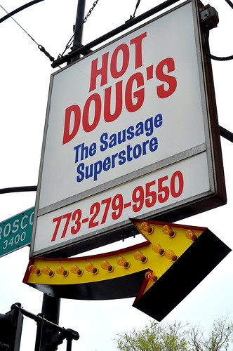 Hot Doug's - Chicago | by Cathy Chaplin | GastronomyBlog.com