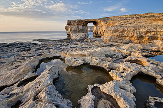 The Azure Window, Gozo | by Allard Schager