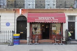 Speedy S Sandwich Bar Cafe London Nw Nj Royaume Uni