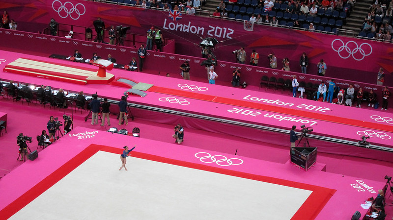 #london2012 gymnastics floor