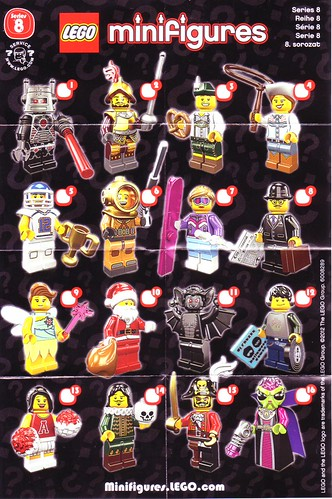 Series 8 collectors' sheet | by hmillington