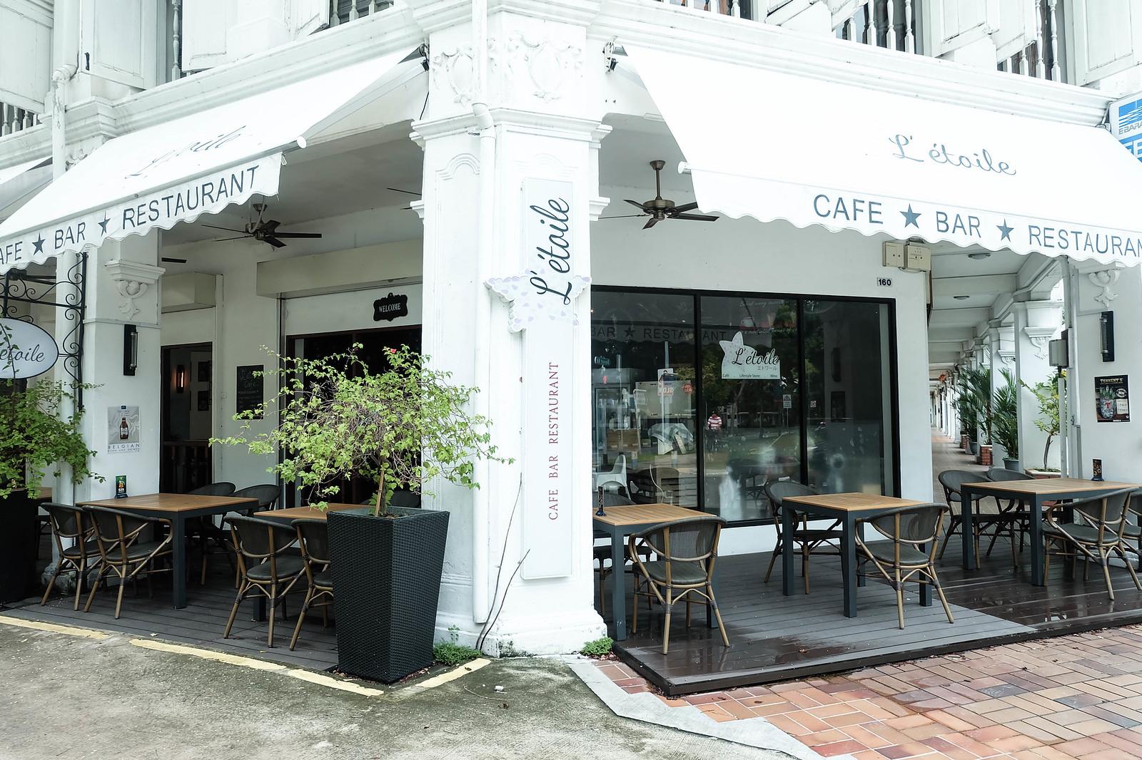 le toile cafe singapore