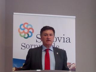 Francisco Vázquez, Presidente de la Diputación de Segovia.