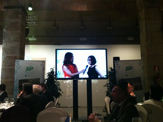 The technical and environmental Mayor of Copenhagen being interviewed | by European Green Capital