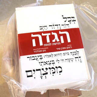 Arrived today: Israeli edition of the הגדה חדשה לפסח | by O.E's playground