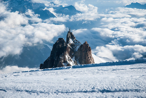 Chamonix, France - Aiguille du Midi, Above The Clouds | by GlobeTrotter 2000
