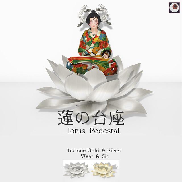 *NAMINOKE*Lotus Pedestal - Wheel Of Fortune -