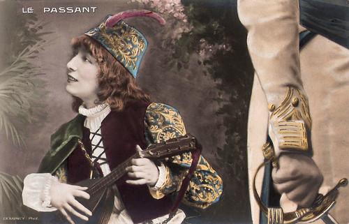 Sarah Bernhardt in Le Passant