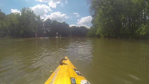 Kayaking and SUP on Saluda Lake
