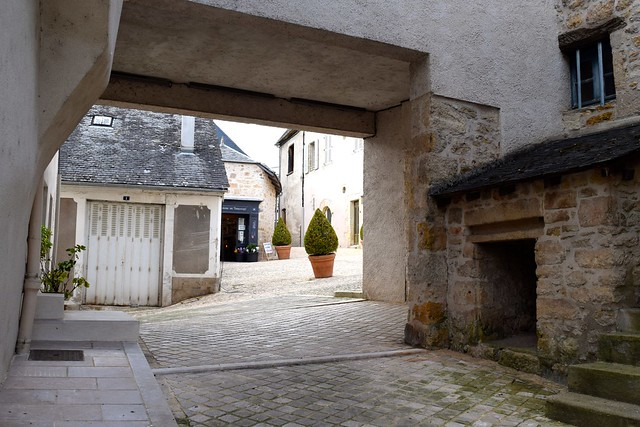 Streets in Terrasson, Aquitane | www.rachelphipps.com @rachelphipps