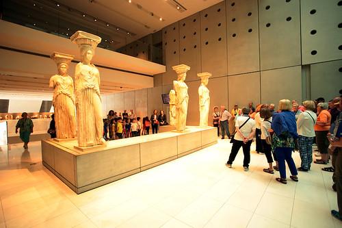 Museo dell'Acropoli: le Cariatidi