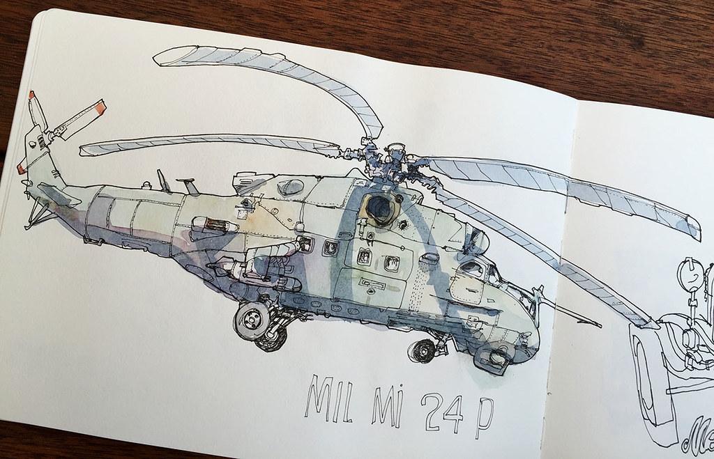 MIL-MI-24P / Technikmuseum Speyer