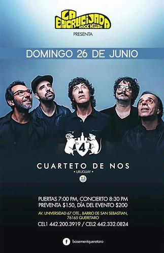 Cuarteto de Nos en Querétaro