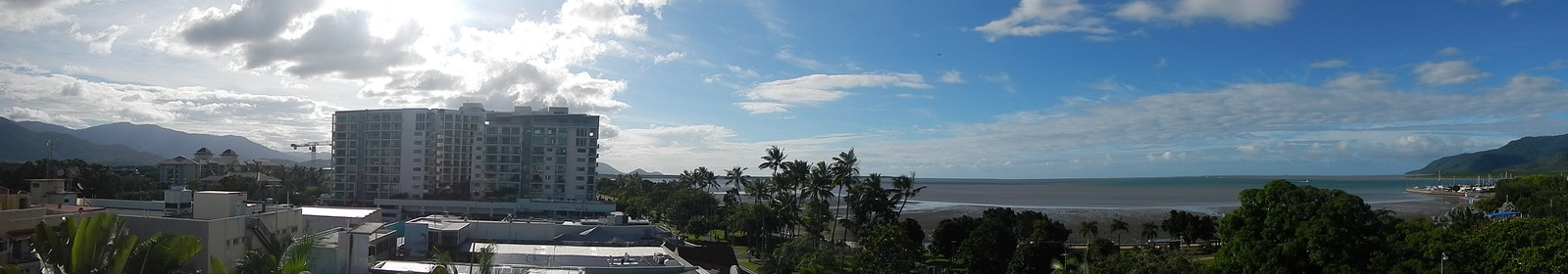 Panoramic of Cairns