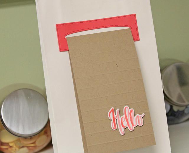 Card Hanger Die