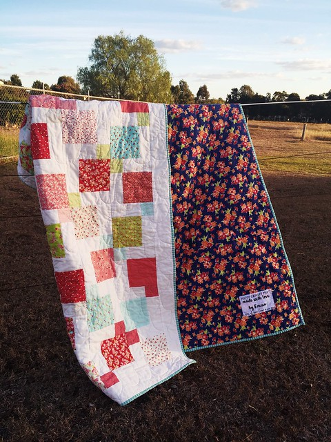 Ruby Nines Quilt