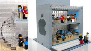 Lego Apple Store Interior | by gotoAndLego