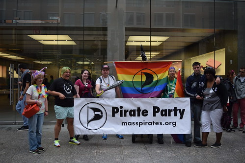 Pirates at the 2016 Boston Pride Parade
