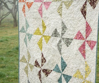 Hope Valley Flying Geese Pinwheel | by Erin @ Why Not Sew? Quilts