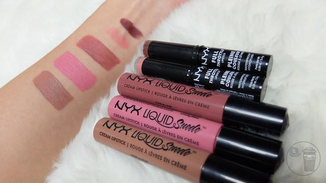 nyx cosmetics liquid suede review