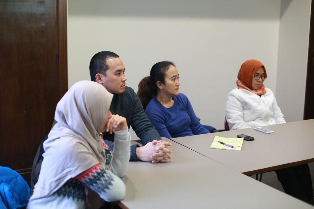 Diskusi Bersama Dr. Hamka Hasan Lc MA