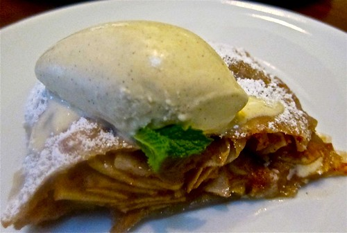 apple strudel with ice cream | by jayweston@sbcglobal.net