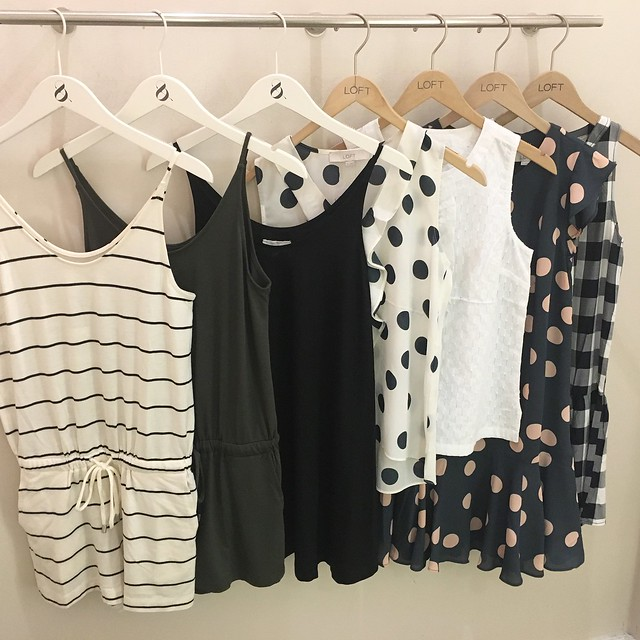 LOFT Summer 2016 Fitting Room Reviews on www.whatjesswore.com