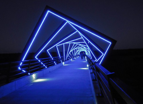 High Trestle Trail art bridge, Madrid, Iowa