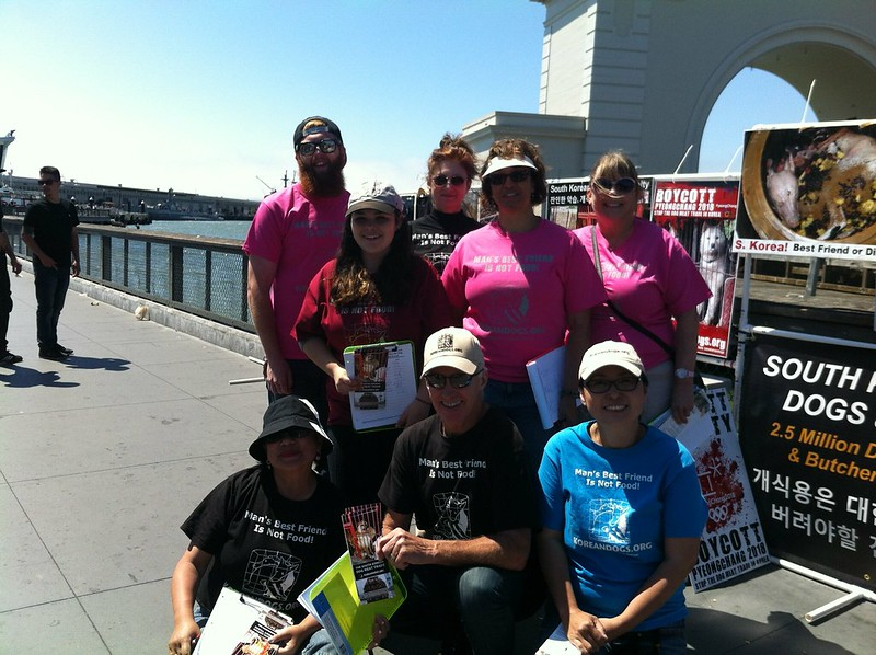 San Francisco, Fisherman's Wharf Leafleting Event – June 5, 2016