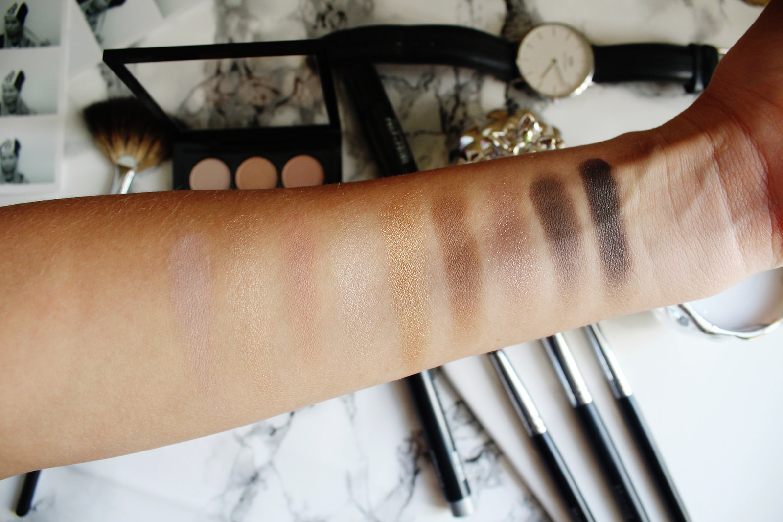 Mac Amber Times Nine eyeshadow palette review