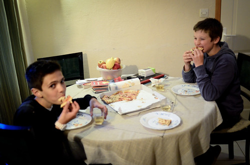 Pizza with the Boys in Beaune - May 2nd 2012 | by The Hungry Cyclist