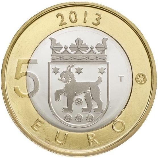 Finland 5 Euro 2013 Tavastia (Häme)