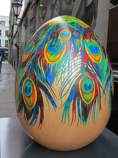 UK - London - Off Regent Street - Big Egg Hunt - Egg no 48 - When I grow up | by JulesFoto
