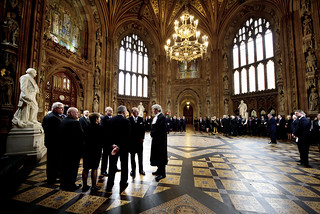 HRH Prince Philip meets staff in Central lobby | by UK Parliament