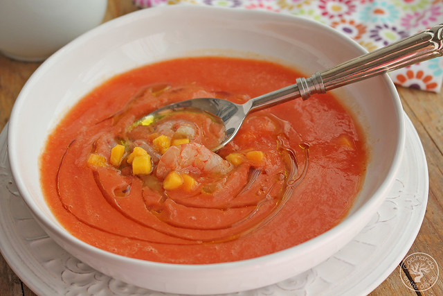 Sopa fria de mango y tomate (1)