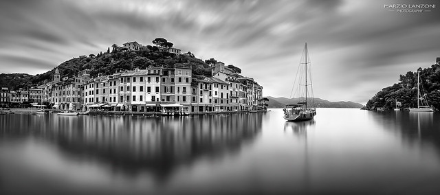 Freezing time in Portofino