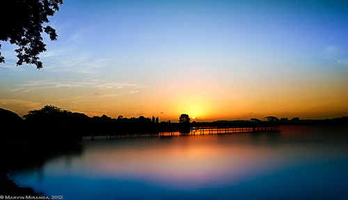 Sunrise @ Lower Seletar Reservoir | by eM n eM